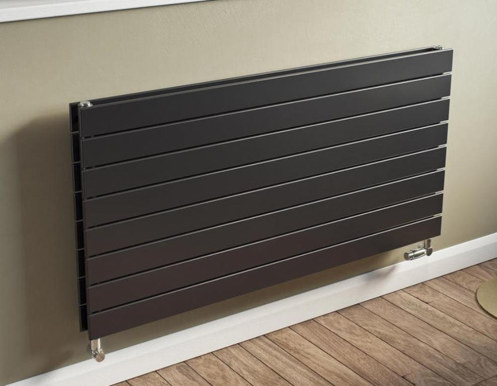 heizk rper p1 duplex vertikale weiss anthrazit rippenheizk rper raumheizer ebay. Black Bedroom Furniture Sets. Home Design Ideas