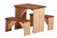 Axi Picknick-Set ZidZed Sitzbänke und Tisch