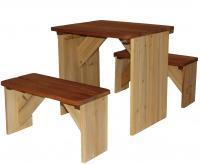 Axi Picknick-Set ZidZed XL Sitzbänke und Tisch