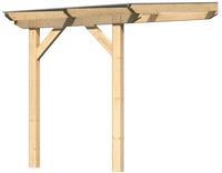 Karibu Terrassenüberdachung 2A Leimholz mit 10mm Doppelstegplatten 2,00x3,00x2,57m