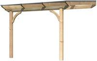Terassenüberdachung - Douglasie Premium Größe   -  254 x 254cm