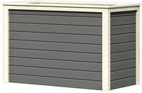 Hochbeet  1 - 128 x 65 x 82 cm terragrau