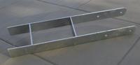 Karibu H-Pfostenanker für 9x9 Pfosten