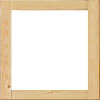 Karibu Fenster (feststehend) für 14mm naturbelassen