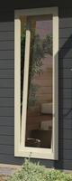 Karibu Fenster elfenbeinweiß für Cube
