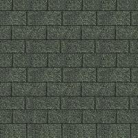 Karibu Dachschindeln Rechteck dunkelgrün, 3 qm