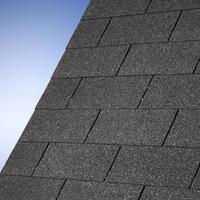 Karibu Dachschindeln Rechteck schwarz 3 qm