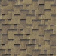 Karibu Dachschindeln Asymmetrisch zedernholz, 3 qm