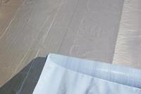 Karibu Dachbahn dunkelgrau selbstklebend ; Rolle 5 qm