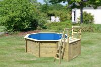 Karibu Pool Modell 1 B - 415 x 120 cm