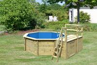 Karibu Pool Modell 1 C - 415 x 120 cm