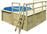 Karibu Pool Modell 1 D - 415 x 120 cm