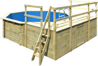 Karibu Pool Modell 2 D - 490 x 120 cm