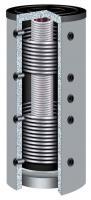 Hygienespeicher KER2 1500 L mit ÖkoLine-C Hartschaumisolierung (2x Wärmetauscher)