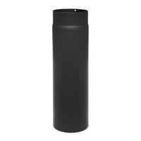 Rauchrohr 130mm x 500mm 2mm schwarz