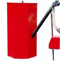 Pelletbehälter 1000 L Rot