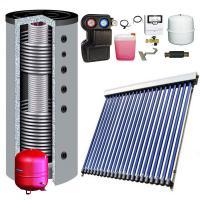 Solarpaket WT-B58/22 mit 7,52m² Kollektorfläche + Hygienespeicher 2x WT BAFA Förderung