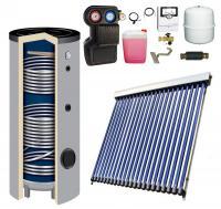 Solarpaket WT-B58/22 mit 11 m² Kollektorfläche + Solarspeicher