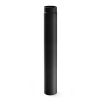 Rauchrohr 200mm x 1000mm 2mm schwarz