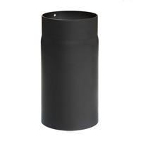 Rauchrohr 130mm x 250mm 2mm schwarz