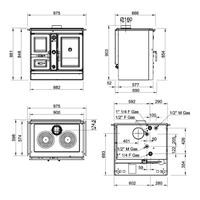 lanordica k chenherd wasserf hrend termoitaly dsa magnolia. Black Bedroom Furniture Sets. Home Design Ideas