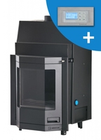 Kamineinsatz Aquaflam 17 Prisma Automatic Regulation wasserführend