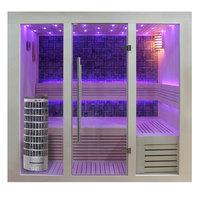 EOSPA Sauna E1216A Pappelholz 200x120 6.8kW Cilindro
