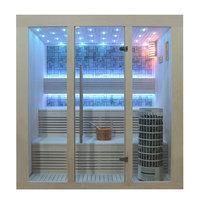 EOSPA Sauna E1215B Pappelholz 180x150 9kW Cilindro