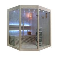 EOSPA Sauna E1219A Pappelholz 160x160 6.8kW Cilindro