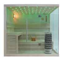 EOSPA Sauna E1105C Pappelholz 180x180 9kW Cilindro