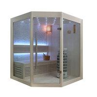 EOSPA Sauna E1219B Pappelholz 140x140 6.8kW Cilindro