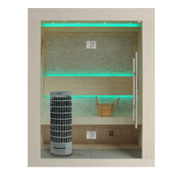 EOSPA Sauna E1252B Pappelholz 120x110 6.8kW Cilindro