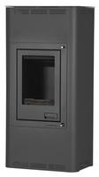 Kaminofen wasserführend AQUAFLAM 12KW BASIC schwarz
