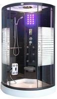 Deluxe Duschkabine WHABP-90-DT 90x90 ohne Dampf