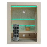 EOSPA Sauna E1252C Pappelholz 100x110 6.8kW Cilindro