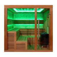 EOSPA Sauna E1243C rote Zeder 180x160 9kW EOS Cubo