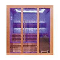 EOSPA Sauna E1244B rote Zeder 180x150 9kW EOS Cubo