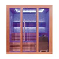 EOSPA Sauna E1244C rote Zeder 160x150 9kW EOS Cubo
