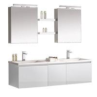 Badmöbel Milano ME-1600+ weiß/160x45