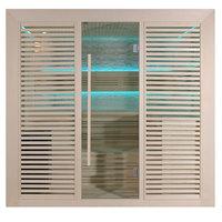 EOSPA Sauna E1402A Pappelholz 220x170 9kW Cilindro
