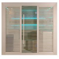 EOSPA Sauna E1402B Pappelholz 200x170 9kW Cilindro