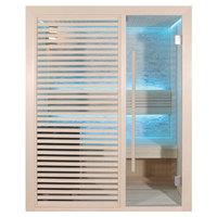 EOSPA Sauna E1410B Pappelholz 150x105 6.8kW Cilindro
