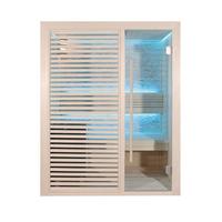 EOSPA Sauna E1410C Pappelholz 120x105 6.8kW Cilindro