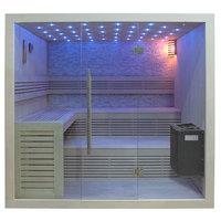 EOSPA Sauna B1102B Pappelholz 200x170 9kW EOS BiOThermat
