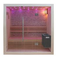 EOSPA Sauna B1103C Pappelholz 120x105 3kW EOS BiOMini