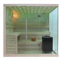 EOSPA Sauna B1105C Pappelholz 180x180 9kW EOS BiOMAX