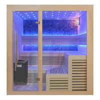 EOSPA Sauna B1213A Pappelholz 220x200 9kW EOS BiOThermat