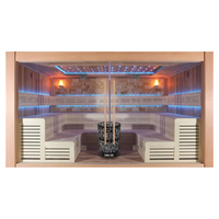 EOSPA Sauna E1400A rote Zeder 400x300 16.5kW Vitra
