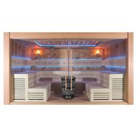 EOSPA Sauna E1400B rote Zeder 350x300 16.5kW Vitra