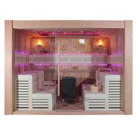EOSPA Sauna E1400C rote Zeder 300x300 12kW EOS Cubo